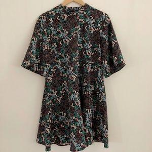Zara kimono sleeve dress